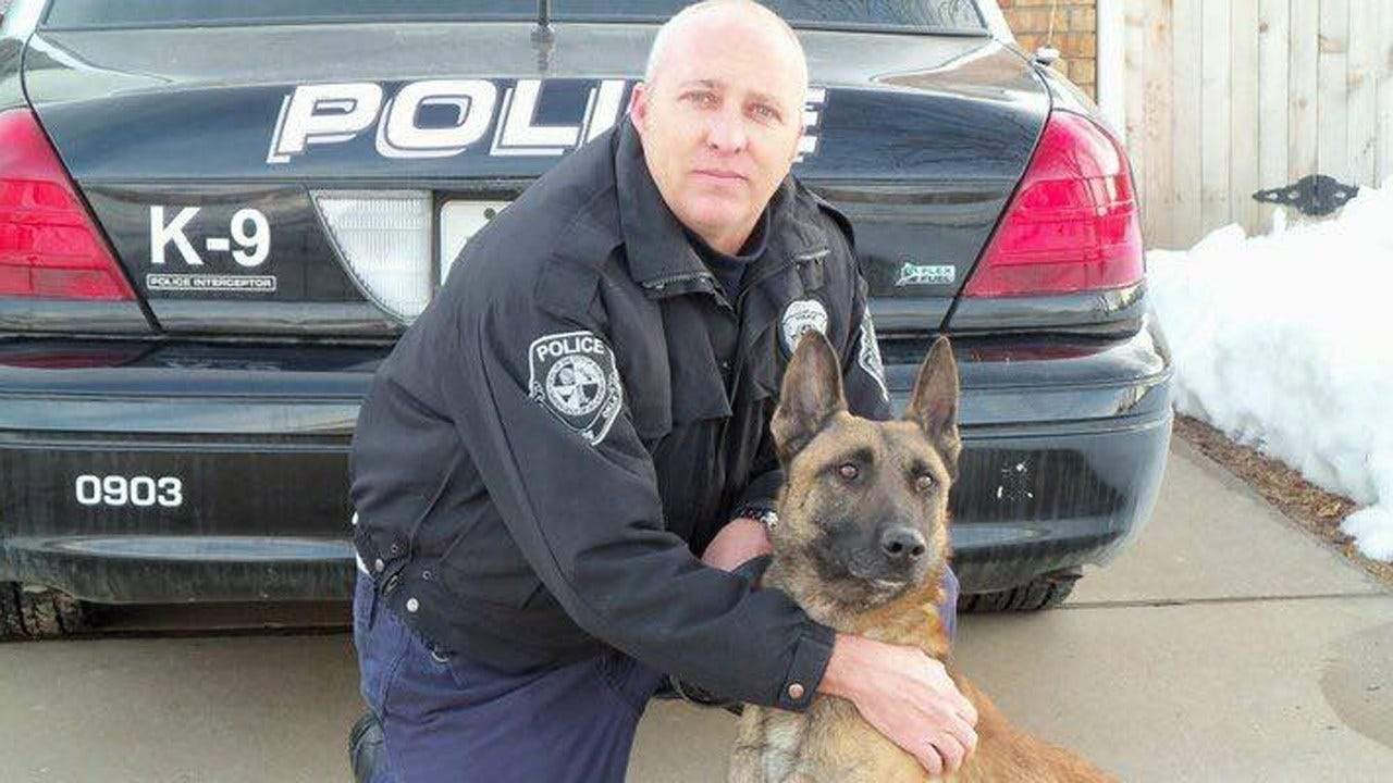 10-Year-Old K9 For Bixby Fraternal Order Of Police Dies