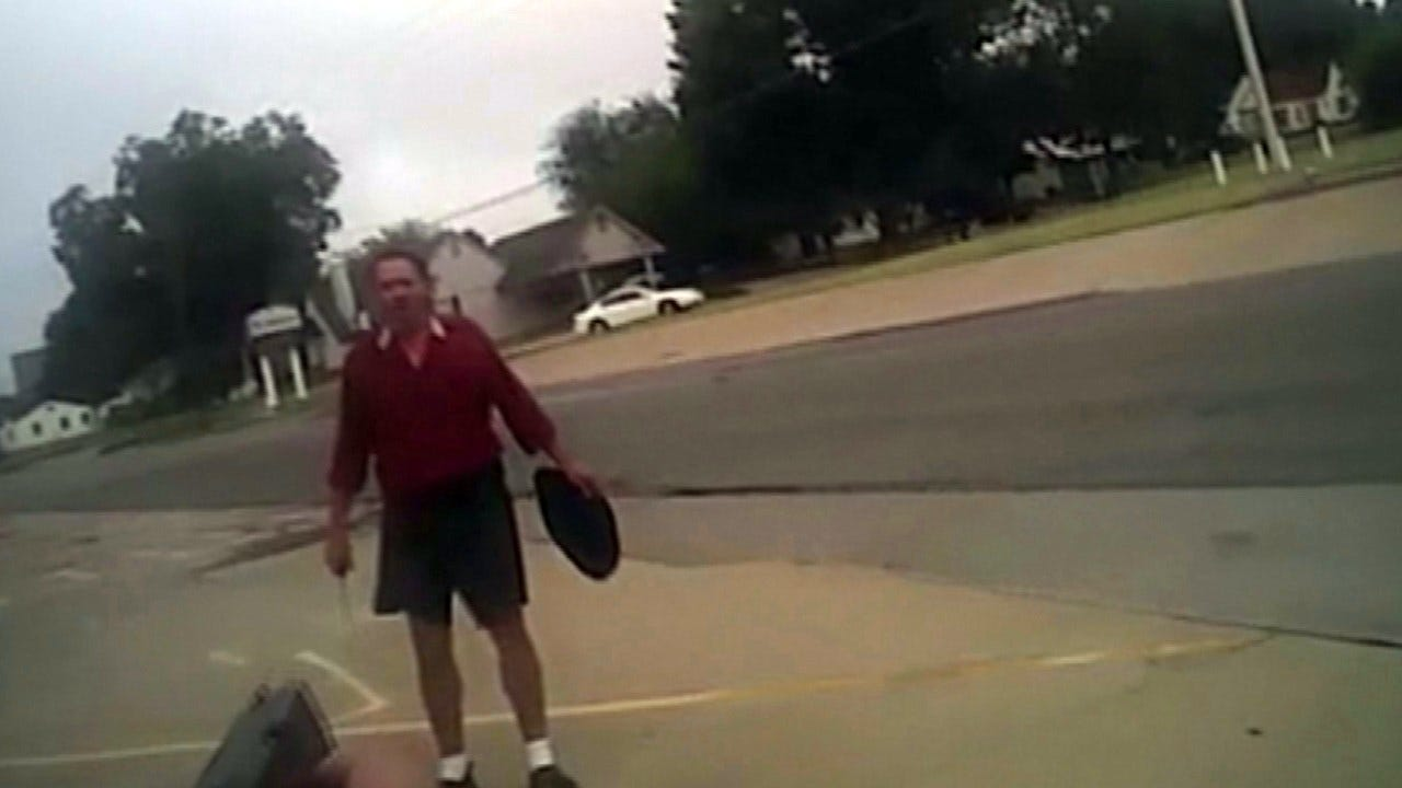 Body Camera Video Shows Moment Muskogee Officer Shoots Man