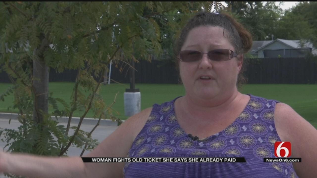 Kiefer Woman Gets Ticket In Mail From 1998