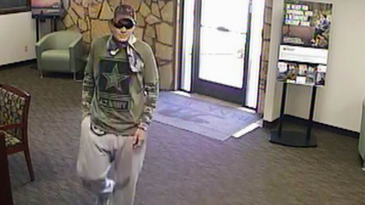 Cushing Police Search For 2 People In Bank Robbery