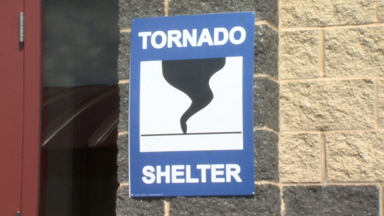 New Creek County School Building Serves As Tornado Shelter
