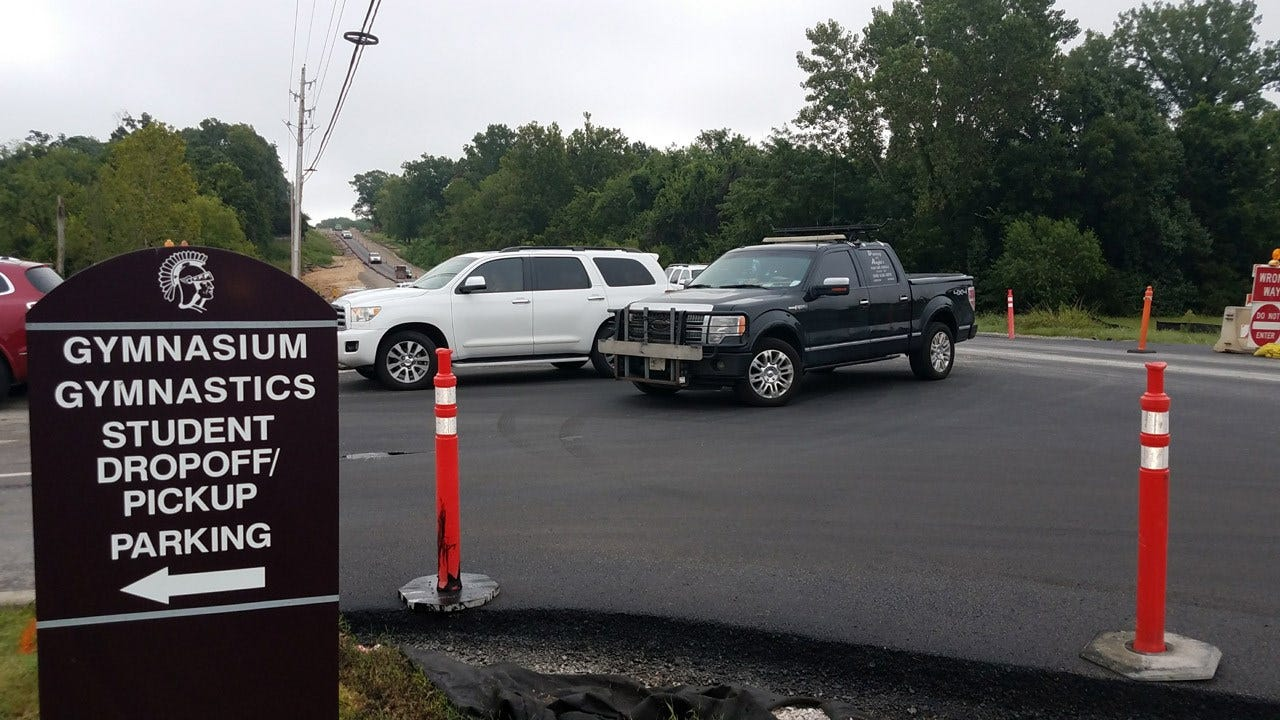 Road Construction Impacts Jenks Middle School Traffic