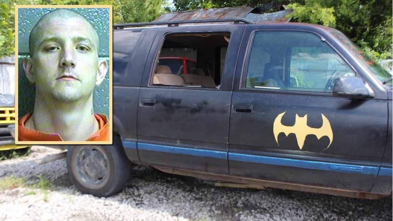 Rogers County Investigators Capture Escapee In 'Batmobile'