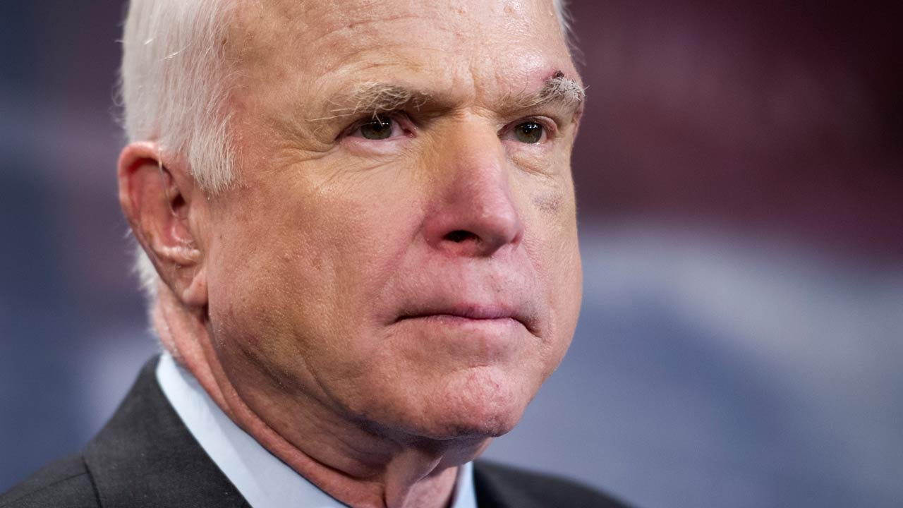 McCain, Battling Brain Cancer, Finishes First Round Of Radiation, Chemo
