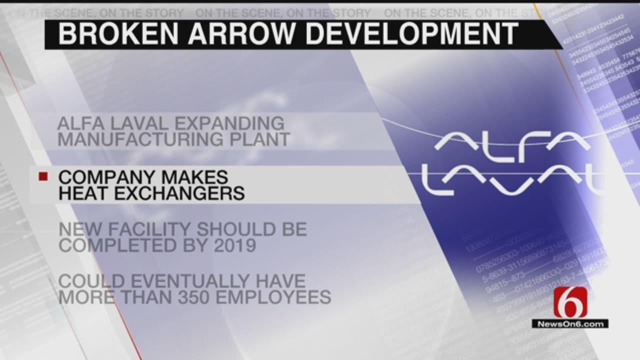 Broken Arrow Manufacturing Plant Expanding, Bringing Jobs
