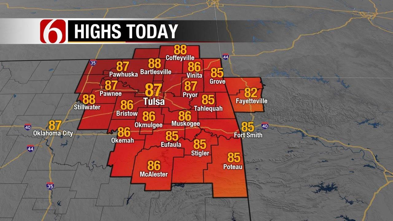 Cool Temps To Stick Around Across Eastern Oklahoma