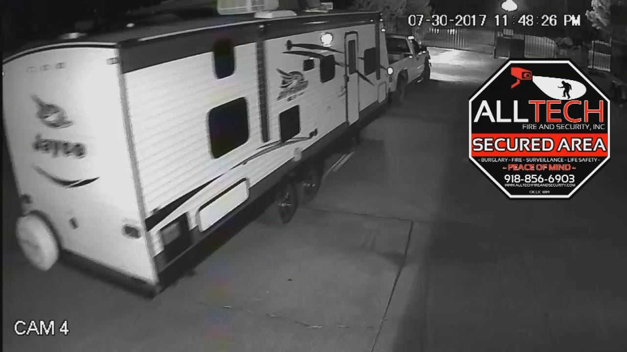 Police Arrest Man Accused Of Stealing Trailers Across Tulsa County