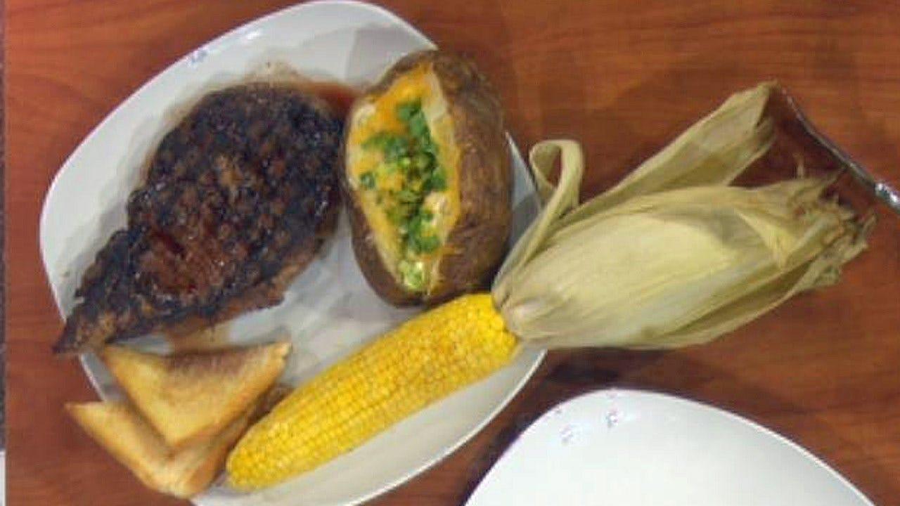 Wood Grilled Ribeye Steaks