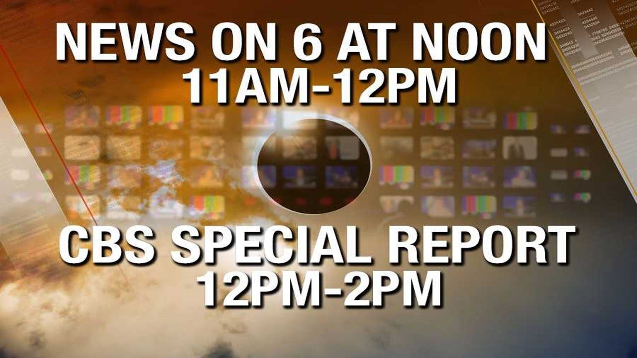 Note: Monday's News On 6 Programming Moved For Eclipse Coverage