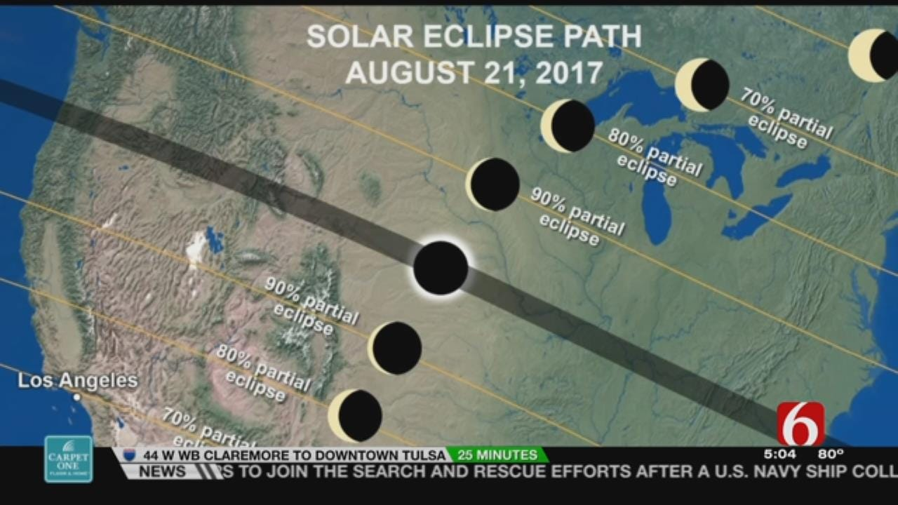 Longest Totality Of Eclipse Will Be In Missouri