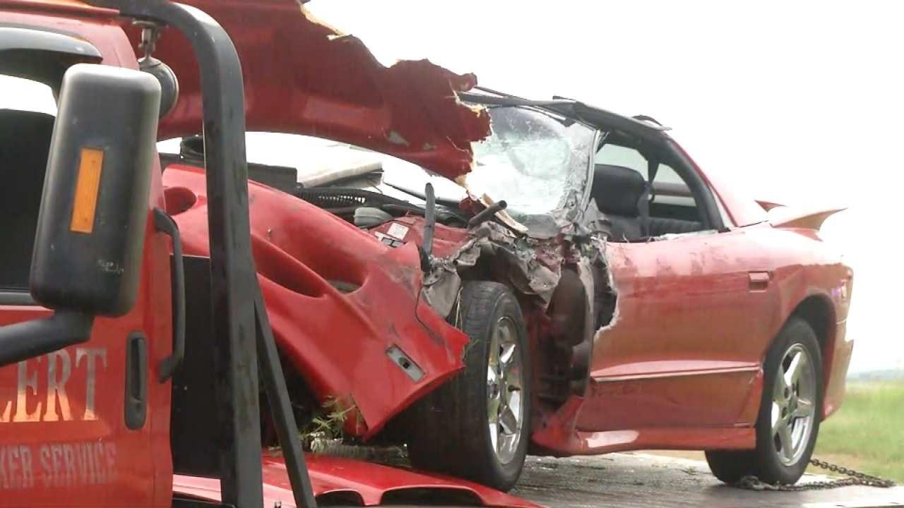 2 Injured In 3-Vehicle Crash Near Ramona