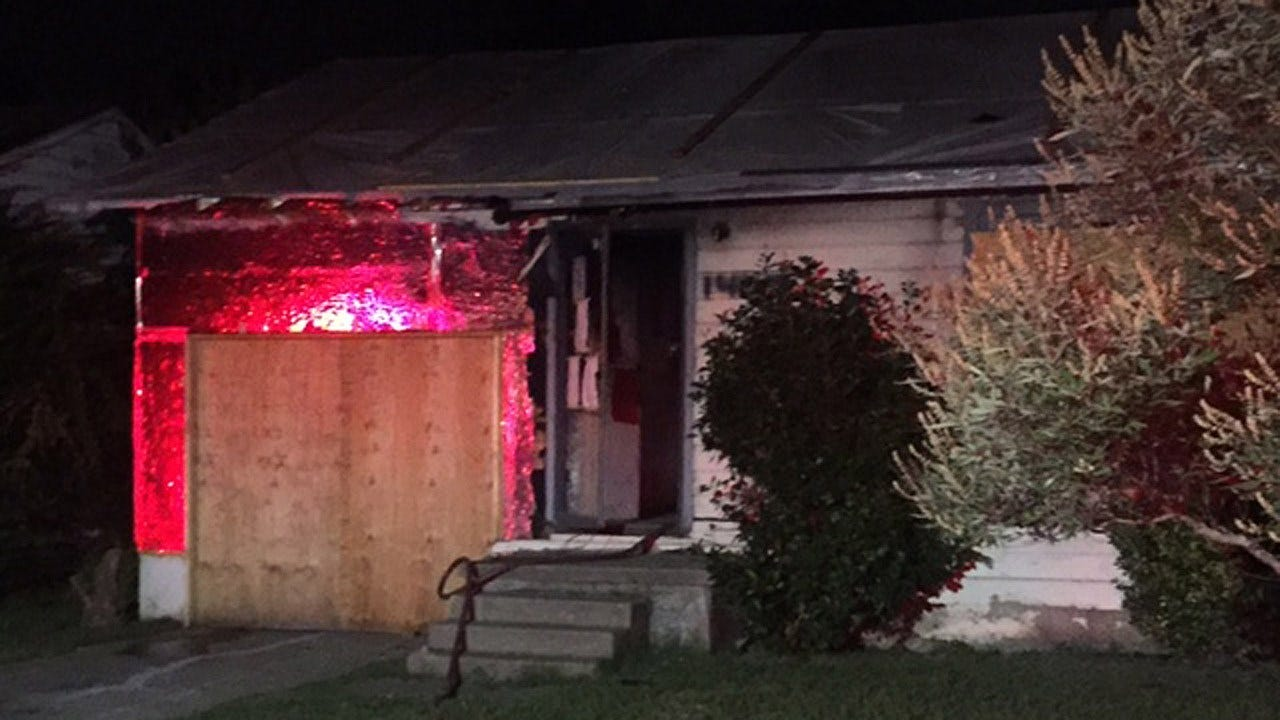 Fire At Vacant North Tulsa Home Being Investigated