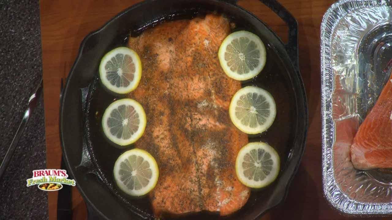 Oklahoma Joe's Champion Canadian Salmon