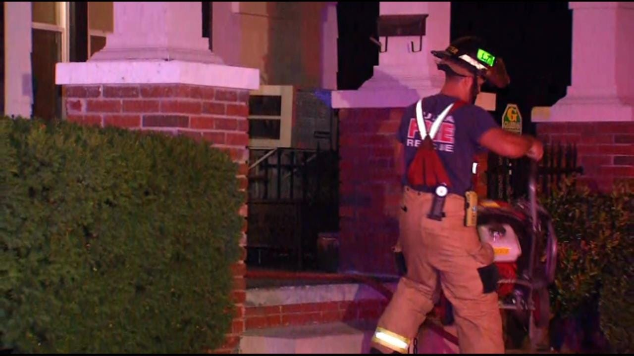 TFD: No Injuries In Midtown Tulsa House Fire