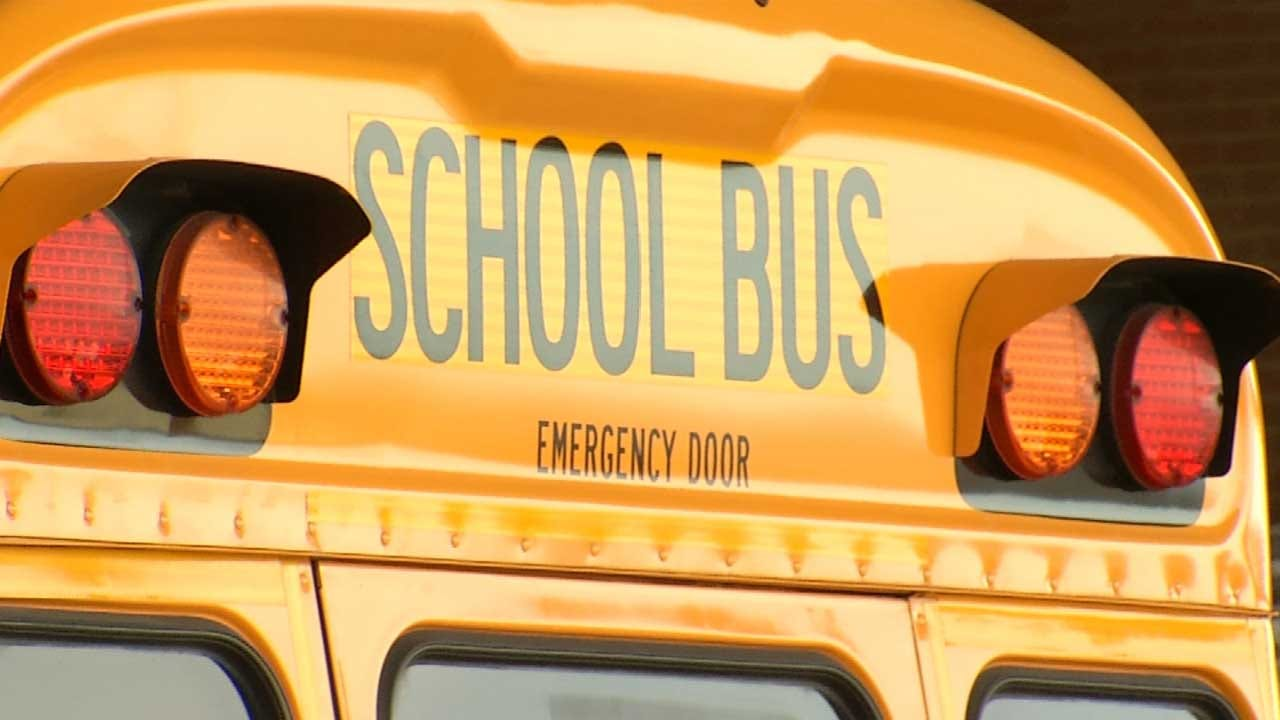 Tulsa Drivers Reminded To Stop For The School Bus