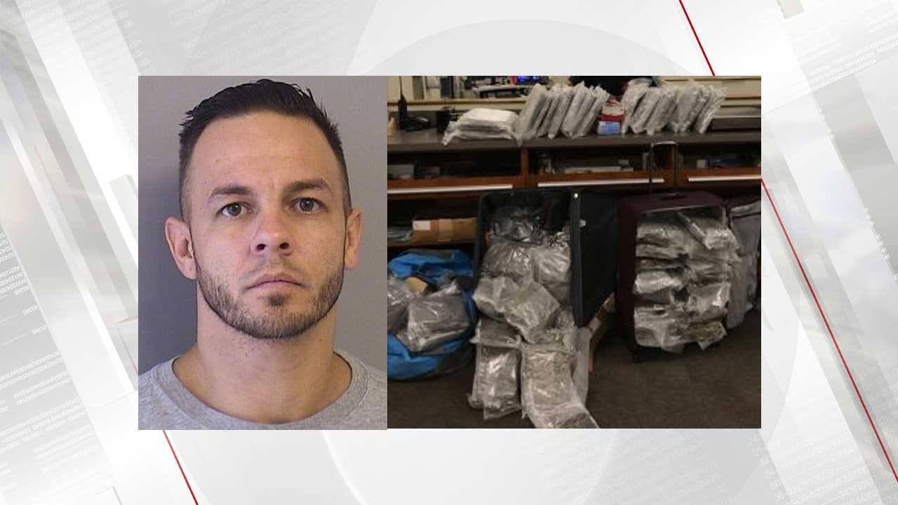 Tulsa Police Make Arrest After Finding 76 Pounds Of Marijuana