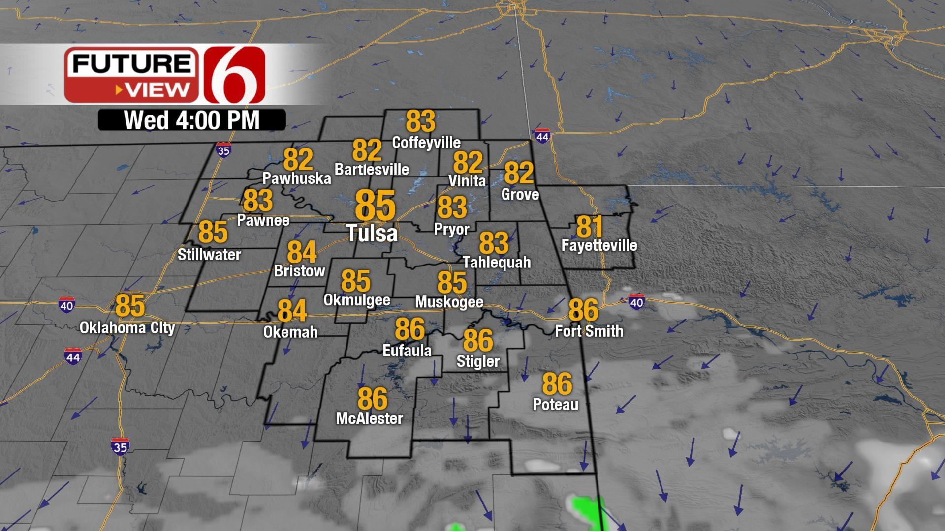 A Nice Pattern Ahead For NE Oklahoma