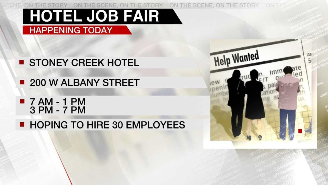 Big Job Fair At New Broken Arrow Business