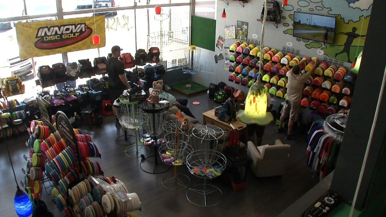 Disc Golf Store Sees Success In Tulsa