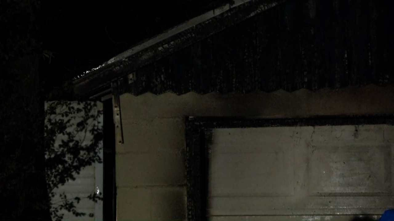 Firefighters Investigate Suspicious Fires In West Tulsa