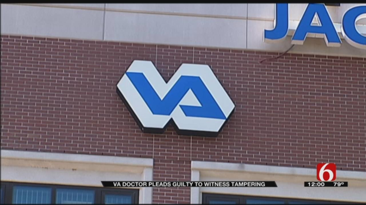 Former VA Doctor Pleads Guilty To Tampering With A Witness
