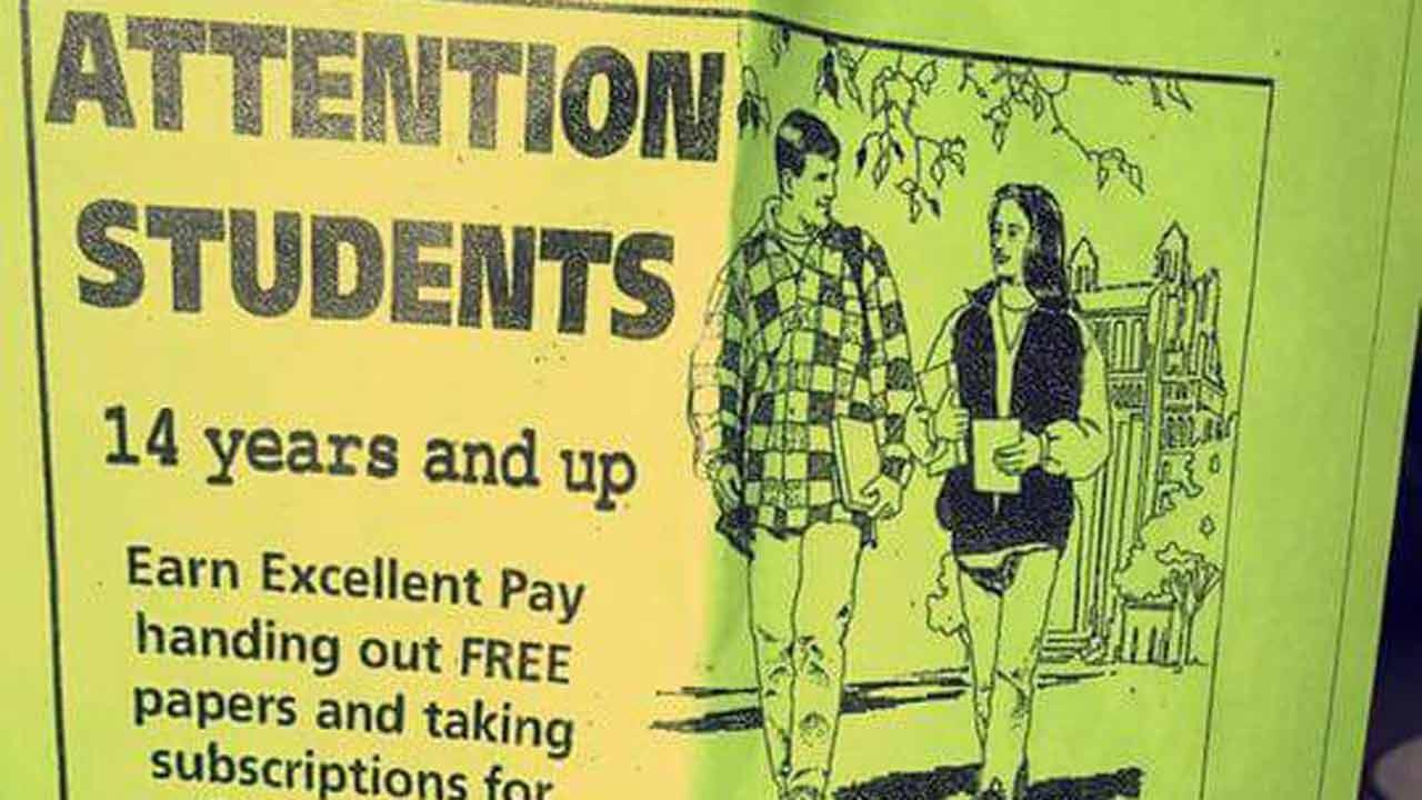 Job Fliers At Claremore High School Spark Concerns