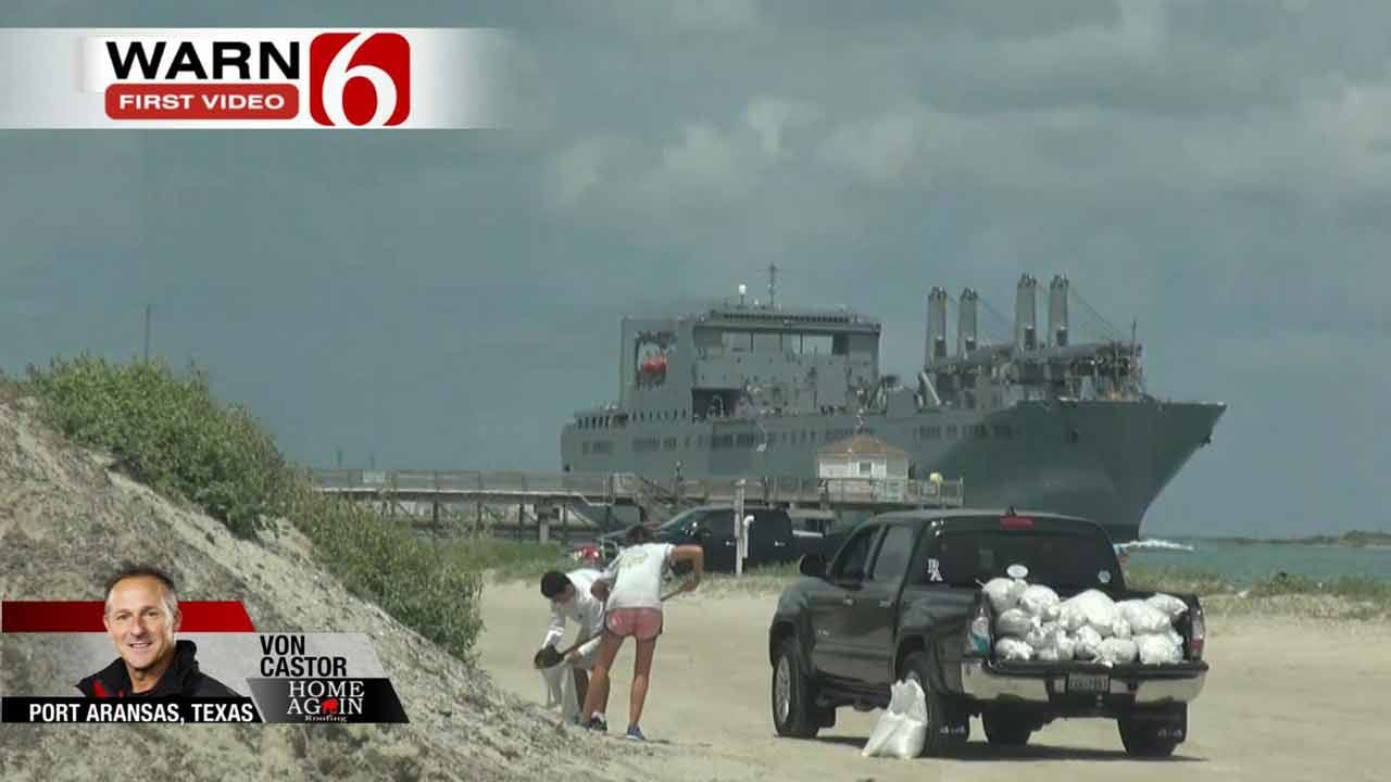 Hurricane Harvey Causes Mandatory Evacuations In Texas