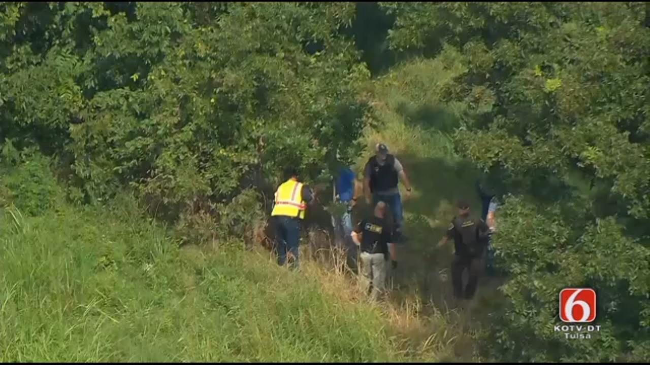 OHP Pursuit Ends In Arrest Near Claremore
