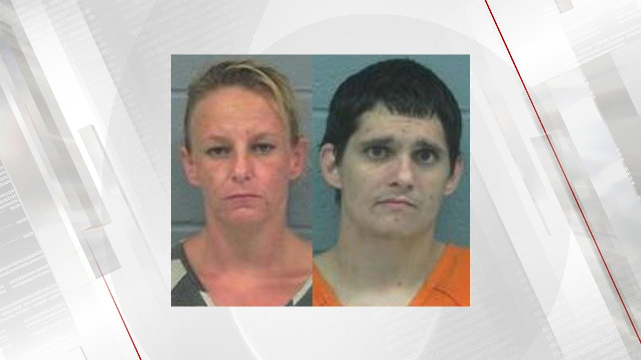 2-Year-Old Tests Positive For Meth; Rogers County Couple Arrested