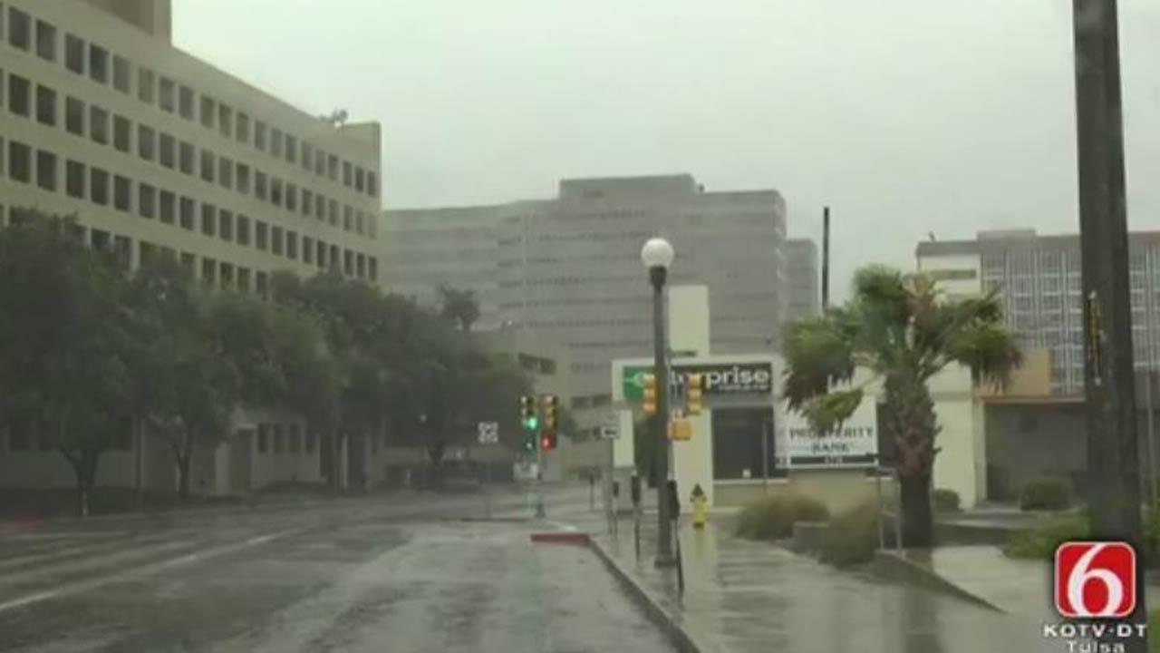 Harvey Upgraded To Category 3 Hurricane