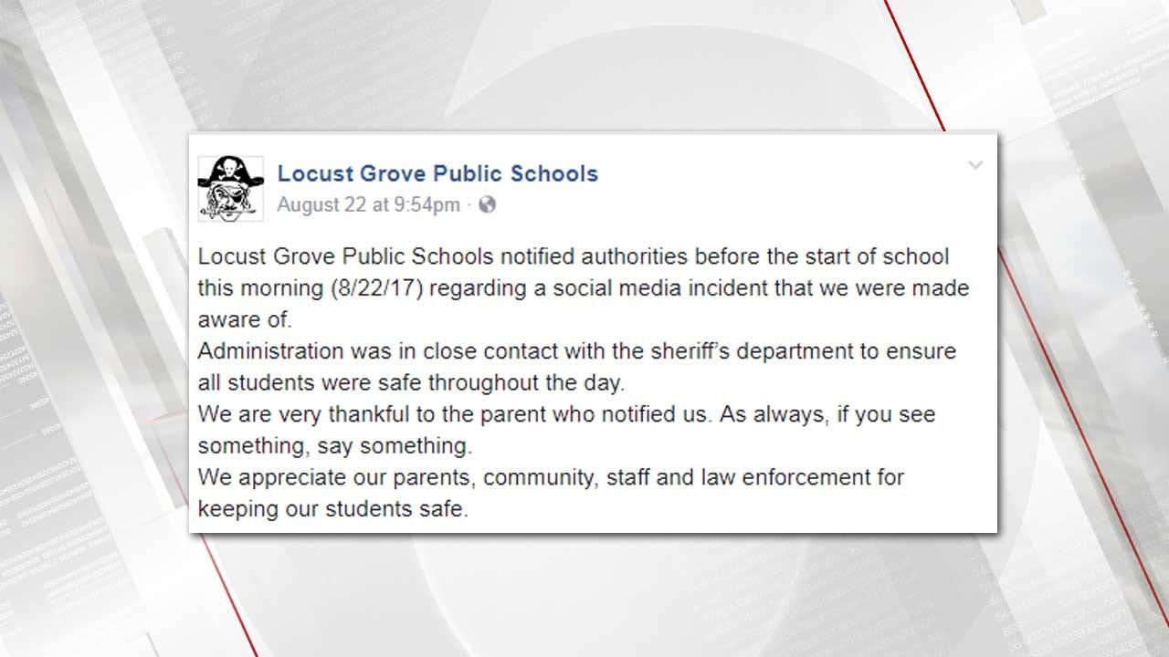Locust Grove Teens In Custody For Planning School Shooting