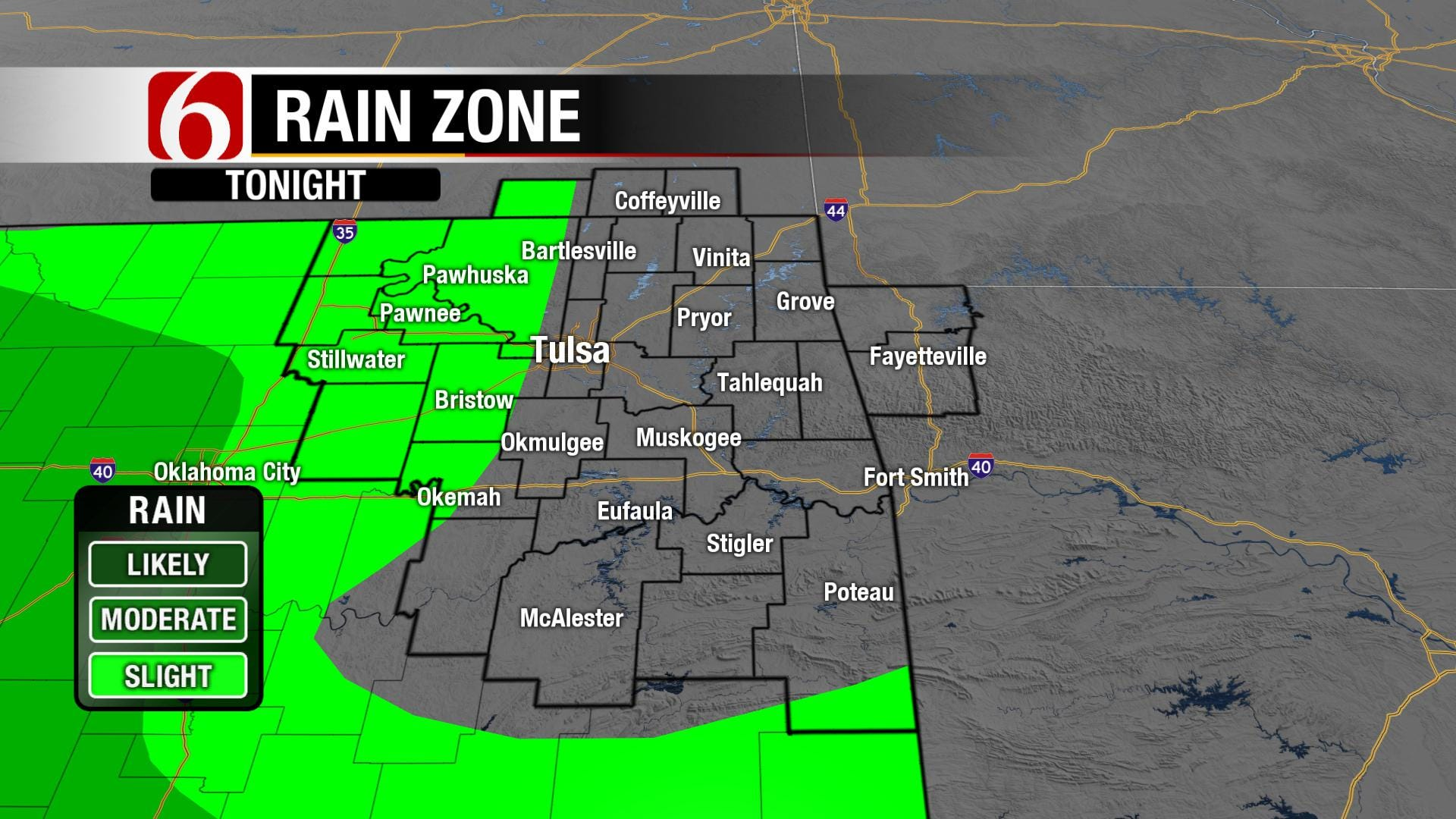 Mild Temperatures Remain In Green Country