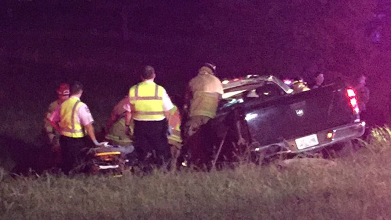 OHP: Tulsa Man Pinned After Rollover Crash