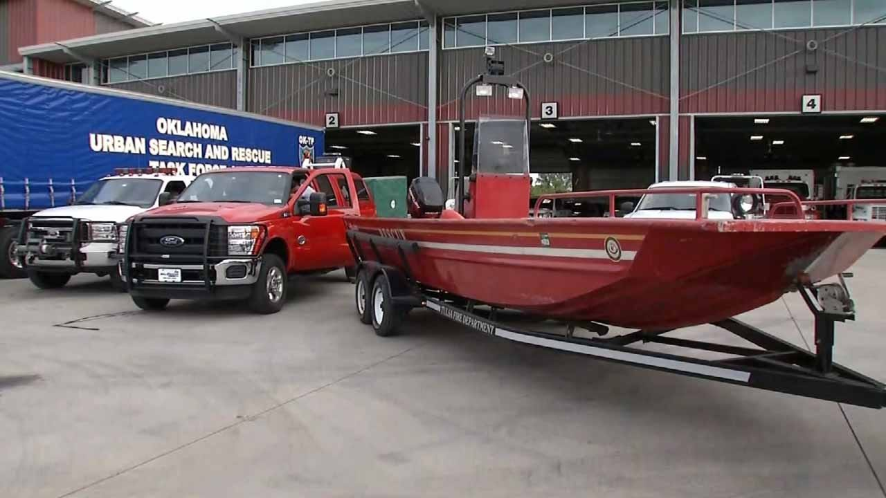 Oklahoma First Responders Ready To Help With Hurricane Harvey