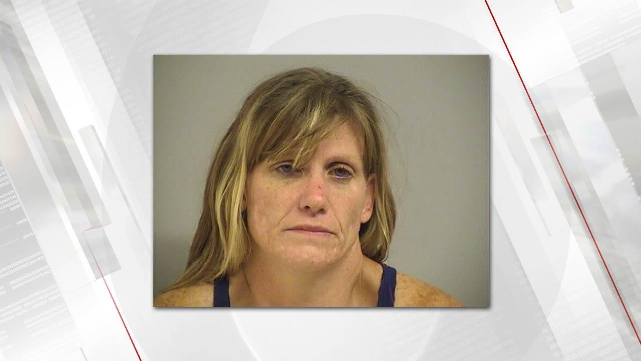 Police: Tulsa Woman High On Meth While Driving With Kids