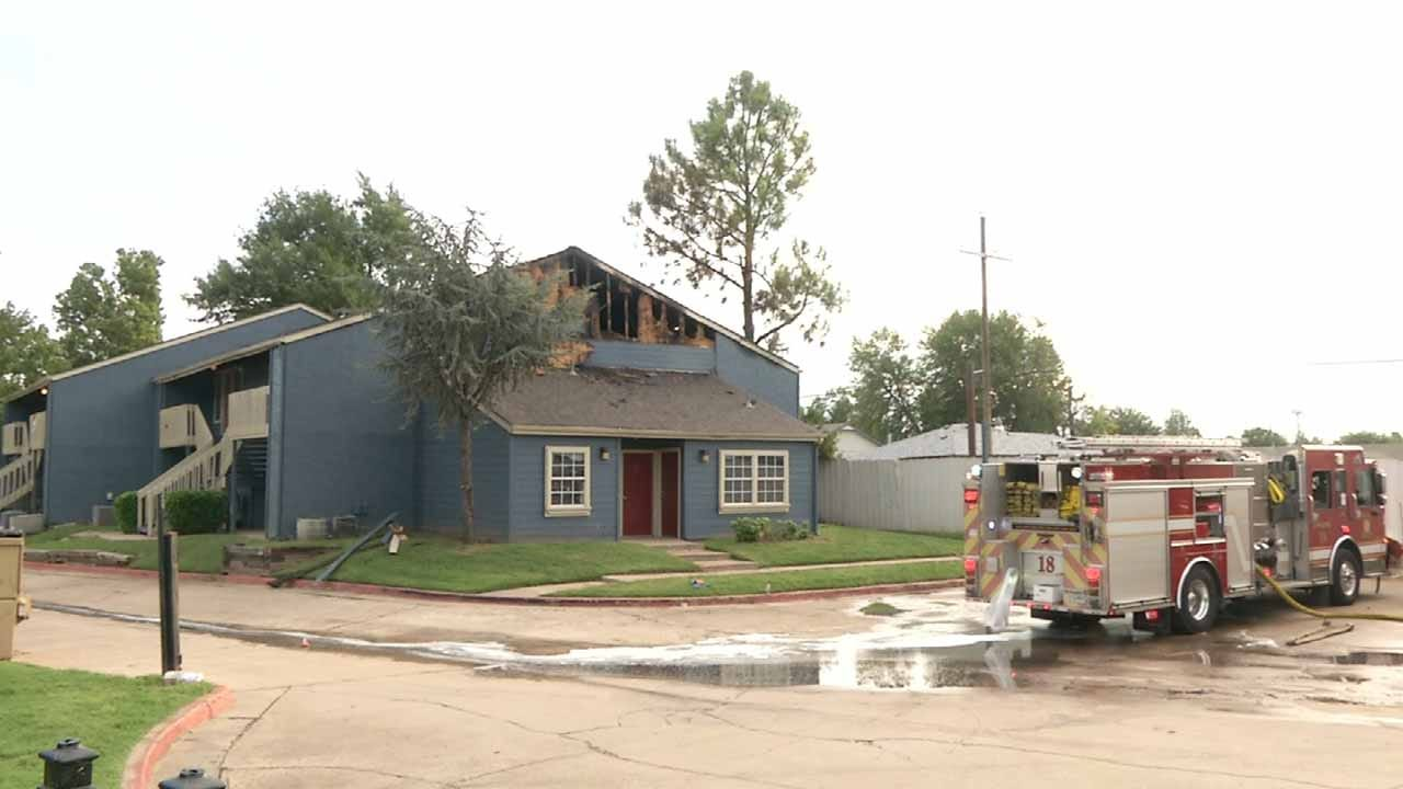 Residents Dealing With Aftermath Of Fatal Tulsa Apartment Fire