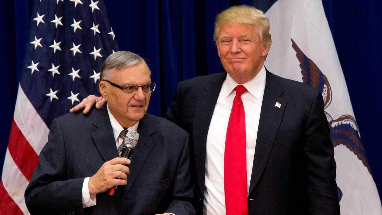Trump Pardons Ex-Sheriff Joe Arpaio, Convicted Of Defying Judge's Order