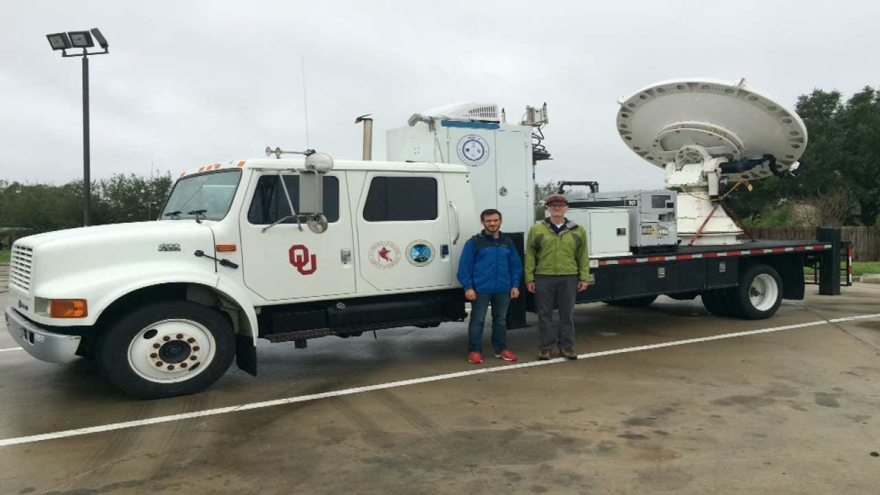 OU Students And Professor Come Back After Collecting Hurricane Data