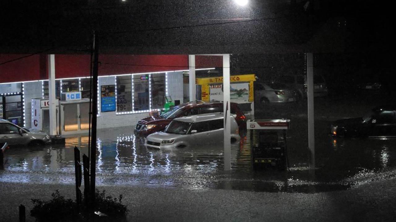 Rescue Efforts Mount In Houston As Harvey Pours It On Heavy