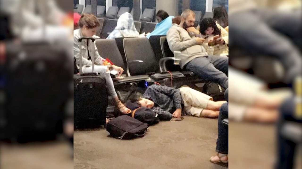 Air Travel Impacted By Harvey Aftermath