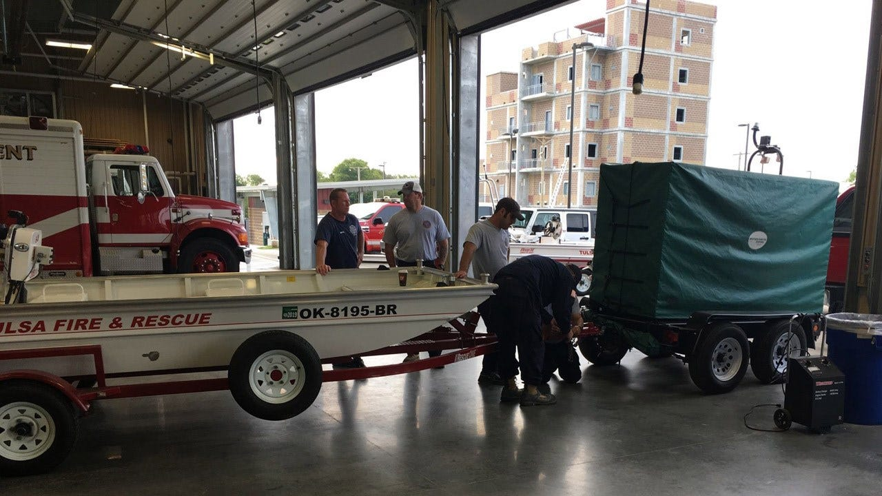 Oklahoma Rescue Task Force Deployed To Texas
