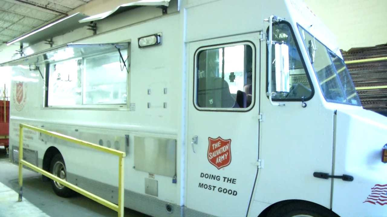 Salvation Army In Tulsa Deploys To Flooded South Texas