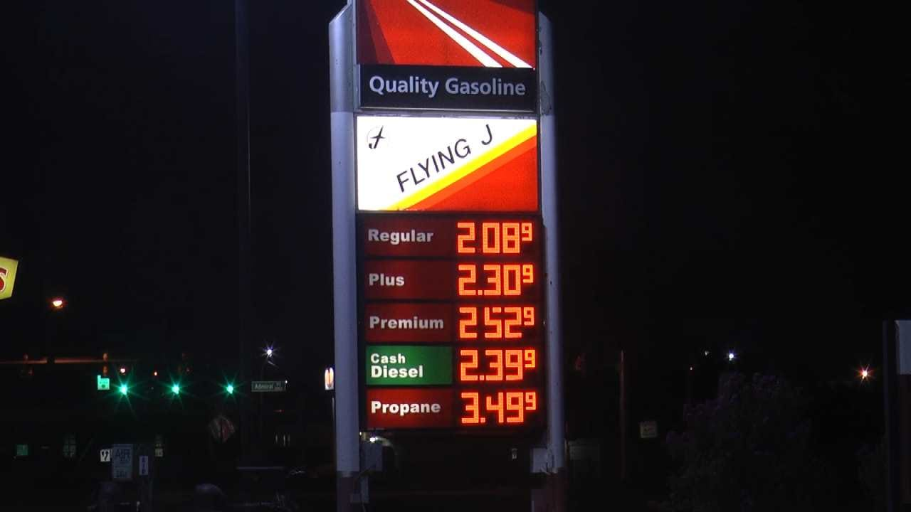 Tropical Storm Harvey's Impact On Gas Prices