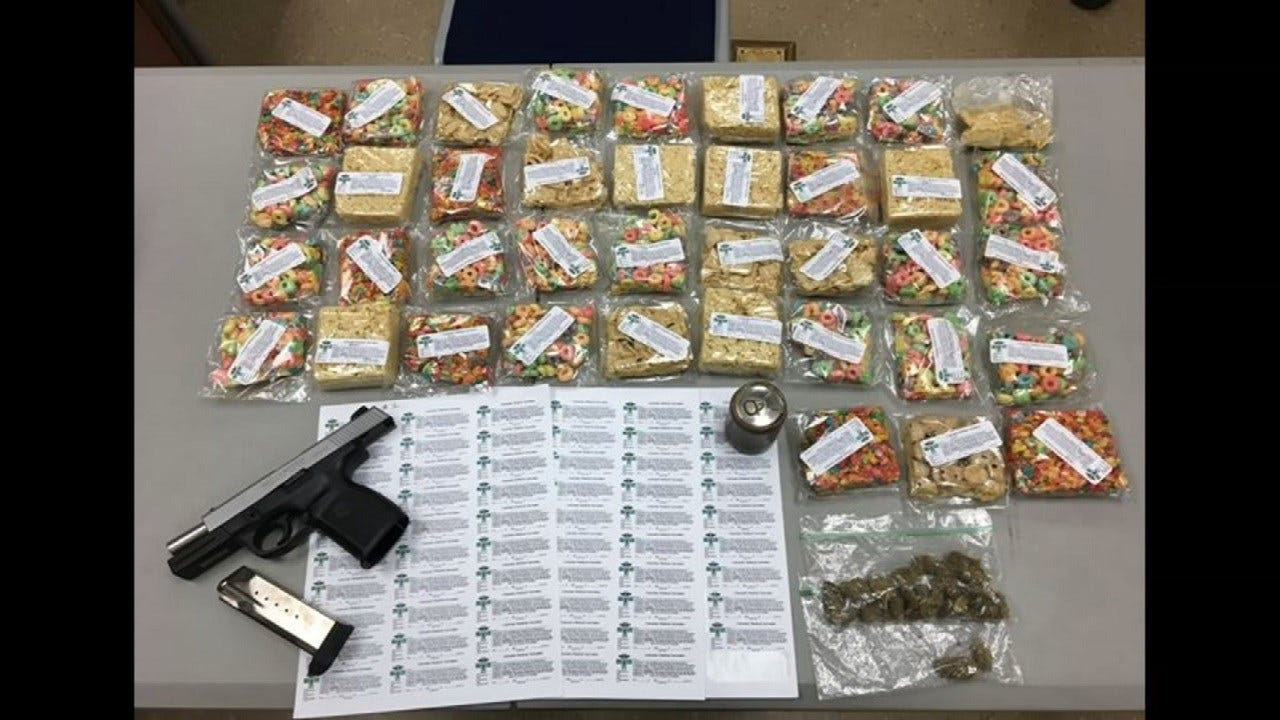 4 Pounds Of Marijuana-Infused Candy, Cereal Seized In Rogers County