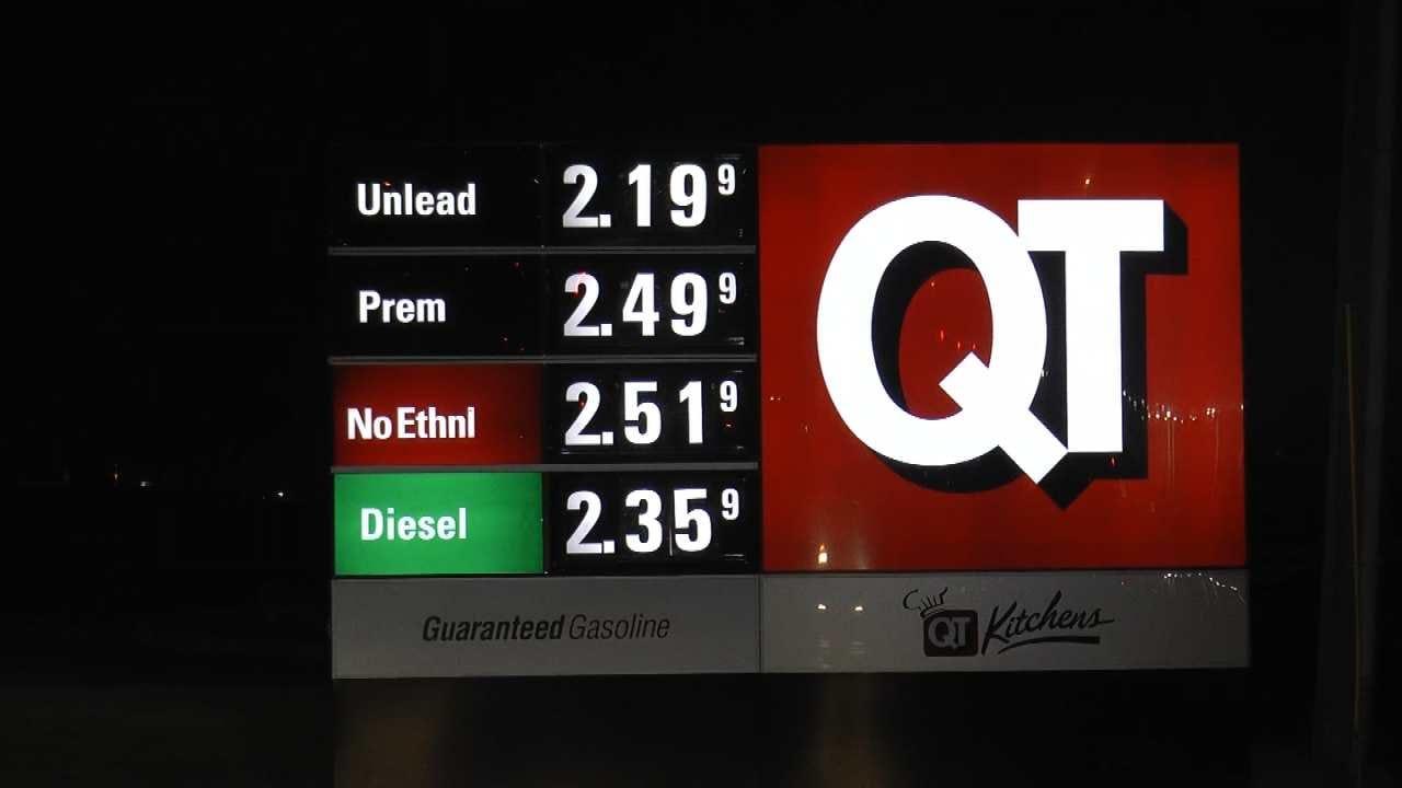 Harvey Leading To Higher Gasoline Prices Across NE Oklahoma