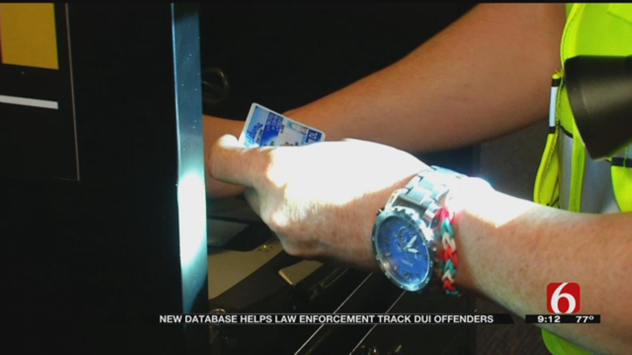 New Oklahoma DUI Database Helps Police Track Offenders