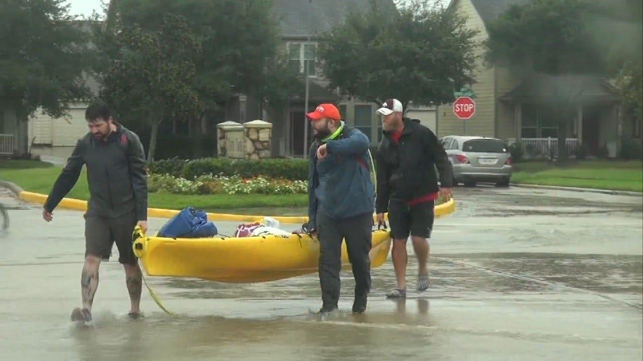 Oklahomans Help With Hurricane Harvey Efforts