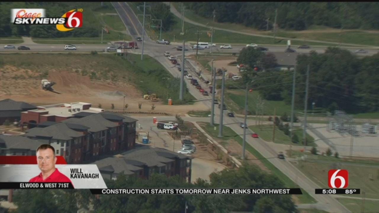Tulsa Road Project To Alleviate School Traffic
