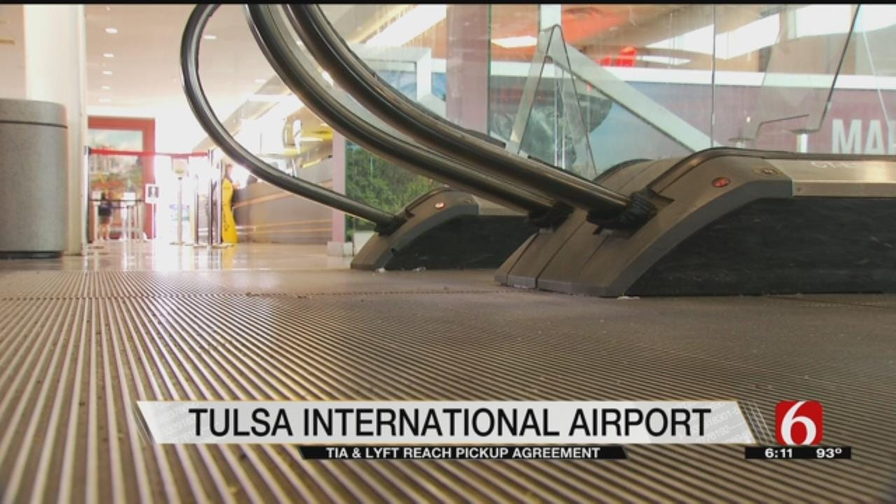 Lyft Signs Deal With Tulsa International Airport