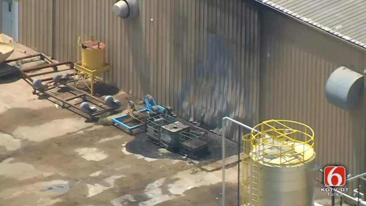 Tulsa Business Briefly Evacuated Due To Fire
